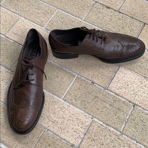 Tod's Oxford Wingtip Brown Size 10